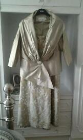 Champagne gold Dress for wedding