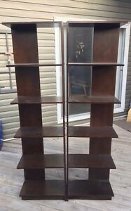 Two Bookcase for $30