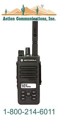 New Motorola Xpr 3500 - Vhf 136-174 Mhz 5 Watt 128 Channel Two Way Radio