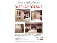 Full bedroom units, wardrobes, Dresser for sale CREAM AND WOOD GLOSS