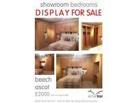 Full bedroom units wardrobes for sale BEECH DOORS - beech ascot