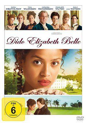 Dido Elizabeth Belle Großbritannien 1x DVD-9 Matthew Goode Lauren Julien-Box N..