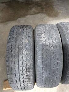 Michelin x-ice tires 215/65/R15