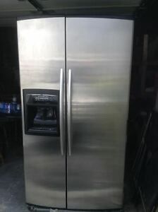 Stainless Steel Kitchenaid Fridge