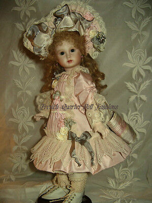 """12"""" FRENCH DOLL DRESS PATTERN ANTIQUE STYLE ~ LETITA *"""