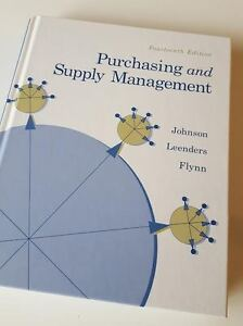 Purchasing and Supply Management Fourteenth Edition