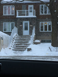 Cote des Neiges 5 1/2 Appartement Choufe / heating include