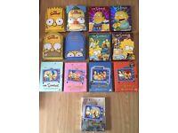 Simpsons box sets - Job Lot