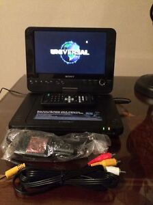 "New condition Sony 7"" DVD player"