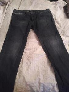 4 Pairs of Barely Used Jeans 38 x 32 Blue Beige Calvin Klein Cambridge Kitchener Area image 4