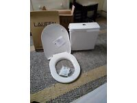 Pro Laufen toilet seat and cistern unit