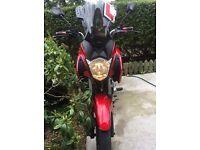 Honda Motorbike CB 125 F