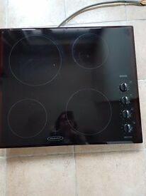 Hotpoint Built in Glass Electric Hob - BE52