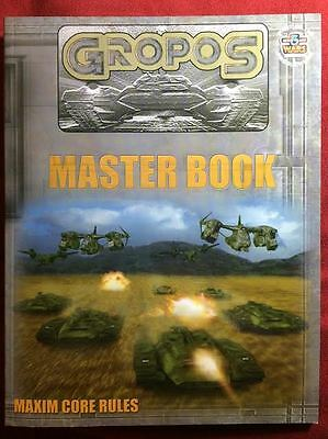 Gropos Master Book - Babylon 5 Wars Ground Combat - Agents of Gaming - NEW
