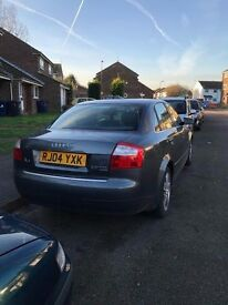Quattro 2.5TDi Auto V6 Diesel, 2004 Grey, owner since 7 years+, new company car forces sale