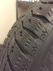 Tire:Bridgestone Blizzak 215/65R16 Winter Tires (MINT) with RIMs