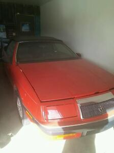 1989 Chrysler Lebaron original stock see photo's