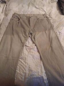 4 Pairs of Barely Used Jeans 38 x 32 Blue Beige Calvin Klein Cambridge Kitchener Area image 6