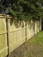 FENCING BY THE FOOT 306-979-9133