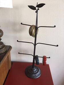PIER 1 IMPORTS Wrought Iron Jewelry Stand