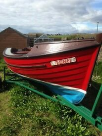 16ft Fibre glass fishing boat