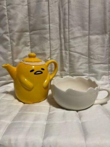 GUDETAMA THE LAZY EGG TEAPOT MAKES YOUR FAVORITE TEAS