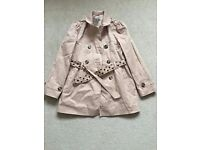 Girls Trench Coat age 9-10 years