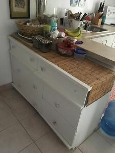 Solid Wood Dresser (Painted)
