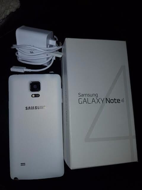 Samsung Galaxy Note 4 White IMMACULATE