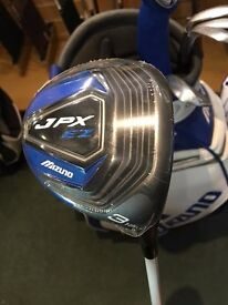 BRAND NEW Mizuno JPX EZ 15 degree 3 Wood Regular Flex