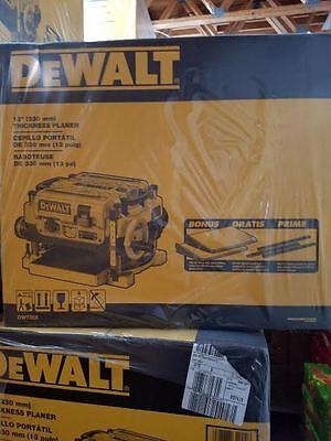 NEW DEWALT DW735X 2 SPEED 3 KNIFE CUTTER HEAD ELECTRIC PLANER KIT 2 HP 15 AMP