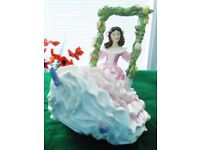 "ROYAL DOULTON FIGURINE. ""BLOSSOMTIME""."
