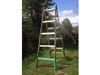Two Vintage Ladders - £25 each. Can be bought separately it two for £40
