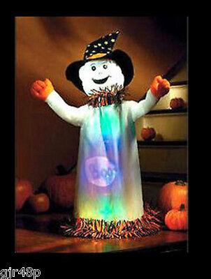 Singing BLACK CAT & WANDA Light Up GHOST HALLOWEEN FUN DECORATION & TOY BOXED UK - Halloween Lights Decorations Uk