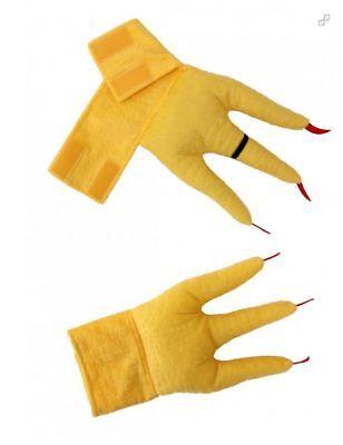Elope Creature Cuffs - Chicken Feet Costume Accessory](Chicken Costume Feet)