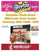 SHOPKINS TRADE DAY MILLWOODS TOWN CENTER SHOWCASE