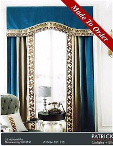 MADE TO ORDER Curtains($18/m )+Lace($47/m)(No483) Nunawading Whitehorse Area Preview