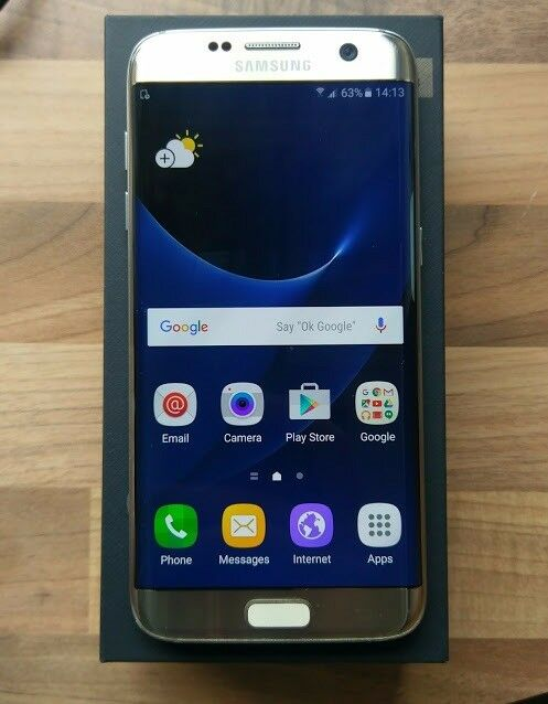 SAMSUNG GALAXY S7 EDGE 32GB (GOLD) - UNLOCKED TO ALL NETWORKS