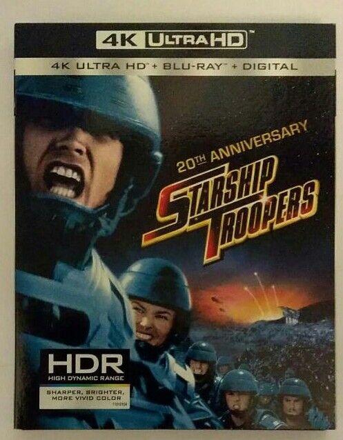 Starship troopers 4k blu ray