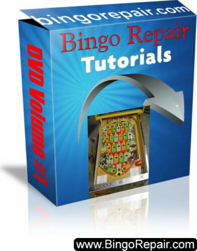 Bally Bingo Pinball Machine Repair Course - 11 Videos - 5 Hours of Instruction