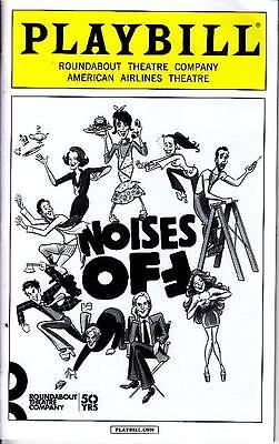 NOISES OFF PLAYBILL NEW YORK CITY NY BROADWAY JANUARY 2016