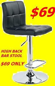 BRAND NEW VERY MODERN & ELEGANT DESIGNER BAR STOOL ONLY $69.