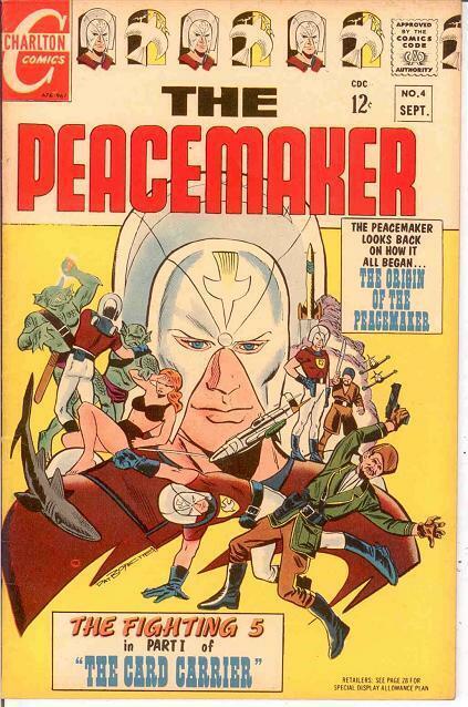 PEACEMAKER (1967 CH) 4 VF  September 1967 COMICS BOOK