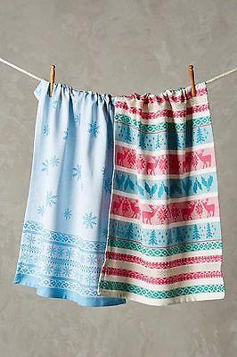 Полотенца, кухонные полотенца NWT Anthropologie FAIR