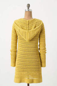 Cozy Soft Knitted Hooded Cardigan Sweater from Anthropologie