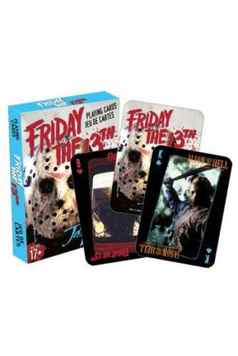 Aquarius Ent Friday The 13th Playing Cards Carte...