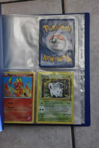 Porta carte Pokemon album 64 posti