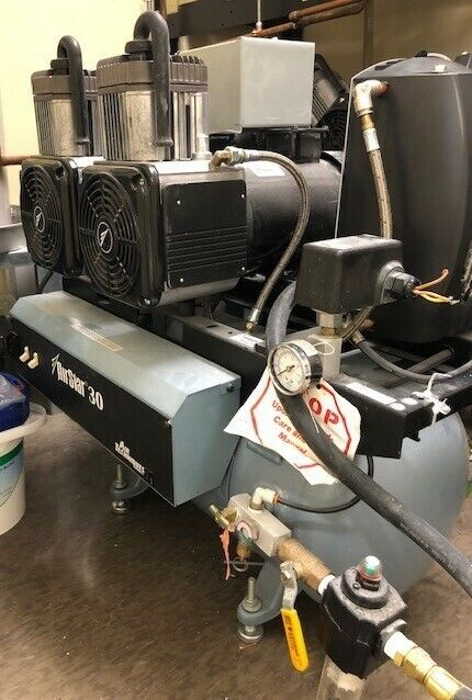Air Techniques AirStar 30 Dental Air Compressor Unit 1.5HP Oil-Free System