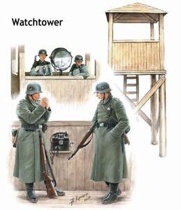 Master Box German Watchtower Kit