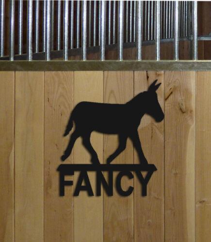 DONKEY STALL SIGN - HORSES